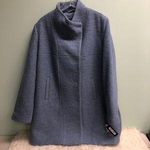 Kenneth Cole Women's Asymmetrical Bouclé Coat